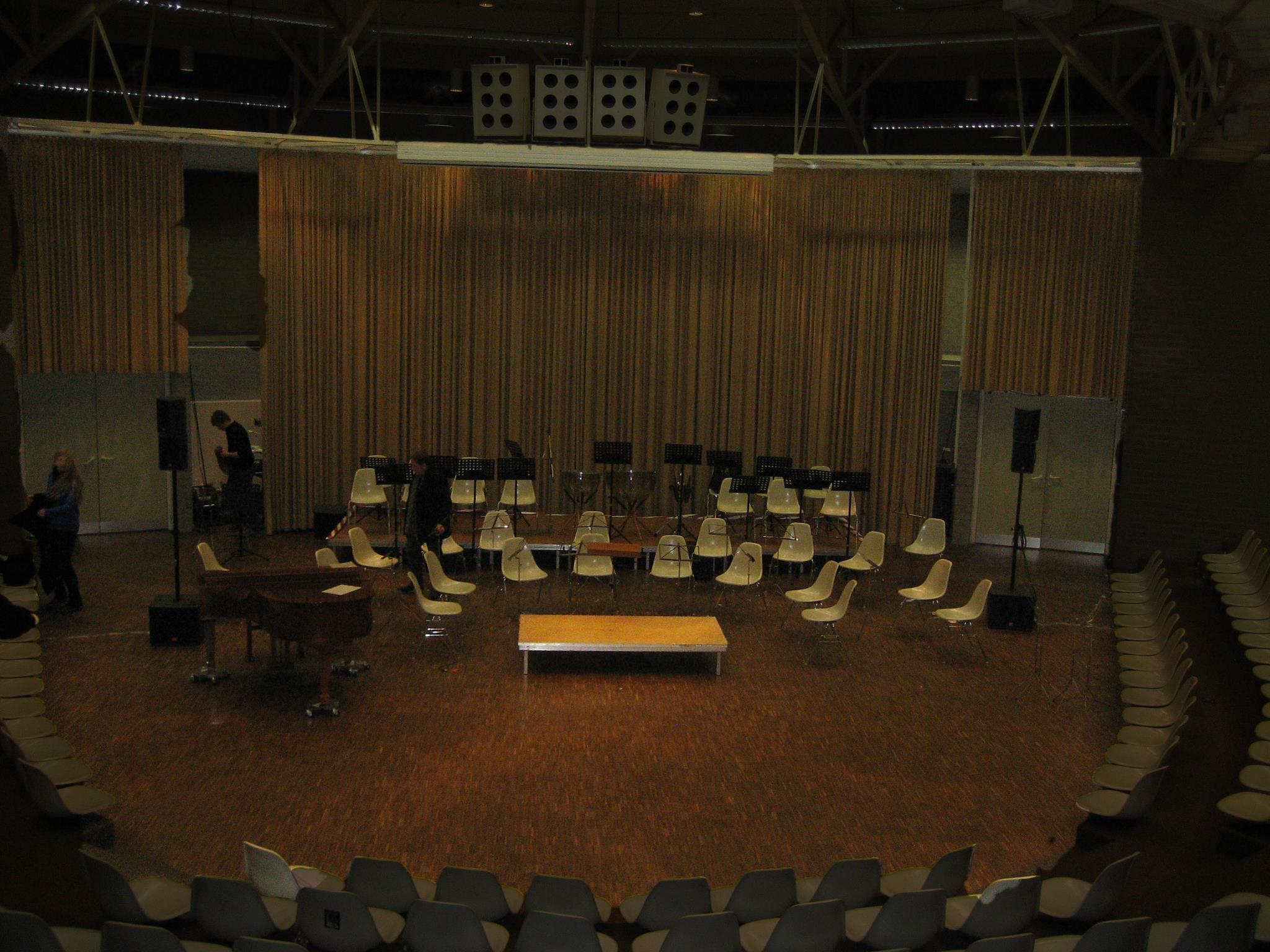 Aula des Heinrich-Heine-Gymnasiums Bottrop