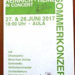 Sommerkonzert 2017
