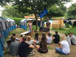 2017 Spanien 2. Theoriestunde im Camp
