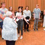 Die Eule-Schülerlehrer aus den 7. und 8. Klassen des HHG wurden am Ende des letzten Semesters für ihr Engagement geehrt (Foto: Michael Korte)