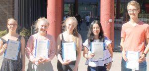 Leistungsstarke Heine-Gymnasiasten können an einem Schülerstudium teilnehmen. Jetzt hat wieder ein Gruppe erfolgreich abgeschlossen.