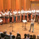 Sommerkonzert des Heinrich-Heine-Gymnasiums in der vollbesetzten Aula: Die Schüler zeigen ihr hohes musikalisches Niveau / Foto: Thomas Gödde